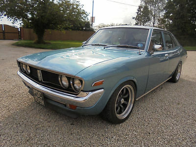1973 Toyota Corona .Retro custom 18RG Twin Cam and 5 speed . Featured car .
