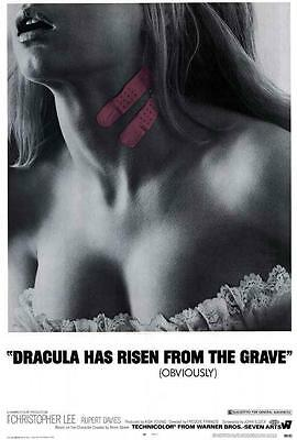 Dracula Has Risen from the Grave Movie POSTER 27x40 Christoph Lee A LICENSED NEW