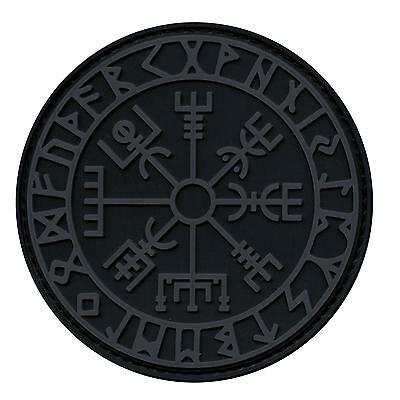 vegvisir viking compass PVC 3D ACU subdued tactical morale norse rune hook patch