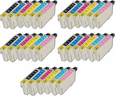 30 non-oem INK FOR EPSON 791~6 T079 STYLUS PHOTO 1400 1410 With Chip