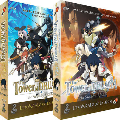 ★ The Tower of Druaga ★ Intégrale Pack 4 DVD