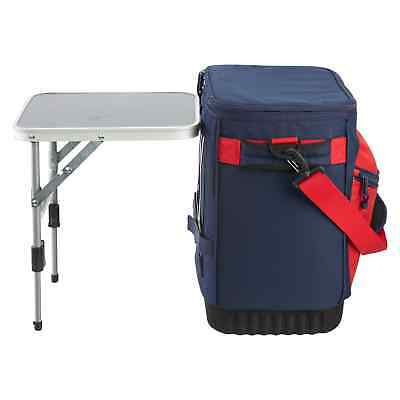 Kathmandu Insulated 20L Portable Festival Picnic Camping Soft Cooler With Table