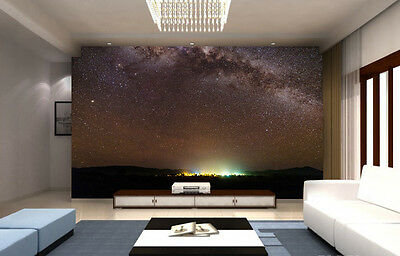 Outback stargazing Skyline Full Wall Mural Photo Wallpaper Print Home 3D Decal