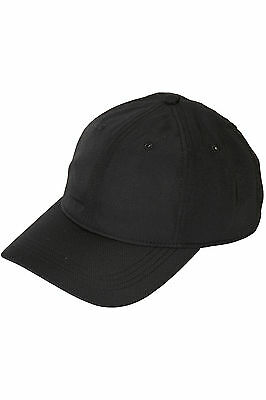 New LACOSTE Mens Basic Sport Dry Fit Cap Black