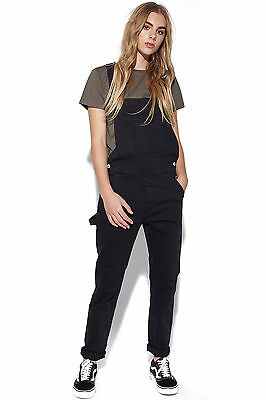 New ASSEMBLY Womens Ella Overalls Black