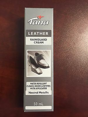 Tana Rainguard Shoe Cream 50ml - Waterproof and Polishing Cream