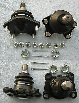 Toyota Hilux 4WD ISF LN107 LN111 LN130 LN167 LN172 Lower Upper Ball Joint Set