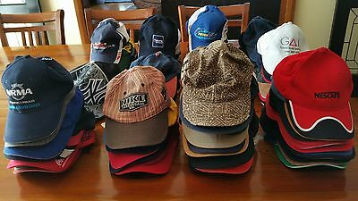 Huge Lot 103 Baseball Caps/Hats Different themes.