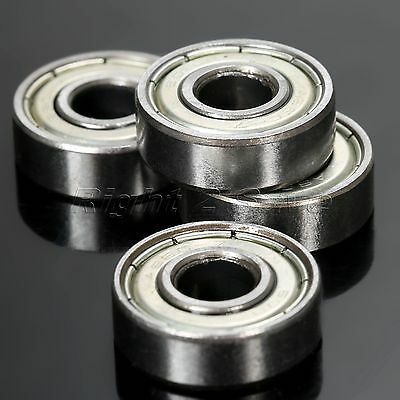 8mm*22mm*7mm 608ZZ Ball Bearings Belt Drive/Axis Travel 3D Printer Carbon Steel