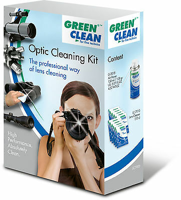 Green Clean Optic Cleaning Kit Reinigungsset LC-7000 Objektive Fernglas Teleskop
