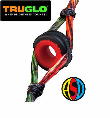 Truglo Versa Peep Sight for Compound Bows Multi size & Colour options