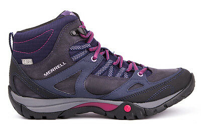 MERRELL Azura Lapis Mid WP Womens hiking Shoes Sneakers Leather New Collection