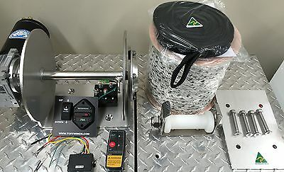 Electric Anchor Winch DRUM WINCH KIT AUSTRALIAN MADE