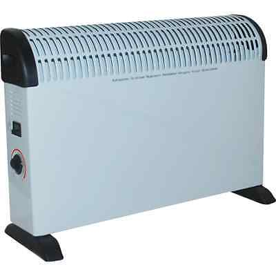 2000W Convector Heater Portable Electric Thermostat Cold Winter 2Kw Wall Hot