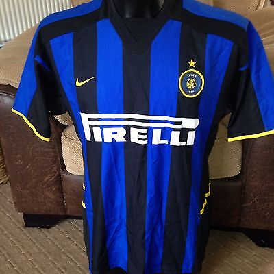timberland mocassin - Men's Vintage Retro Inter Milan Top Shirt Nike M Medium Pirelli ...