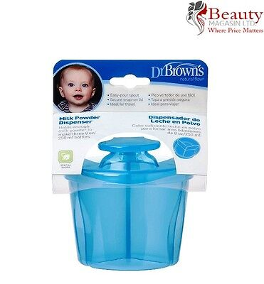 Dr Brown's Milk Powder Dispenser (Blue)