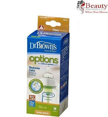 Dr Brown's Options Wide Neck Bottle (150 ml)