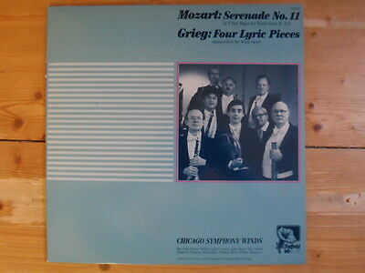 Chicago Symphony Winds-Mozart-Serenade No.11-Sheffield Lab Pressung-Limited