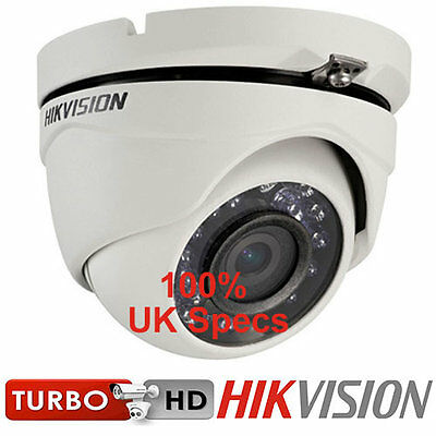 Hikvision Turbo HD 1080p Dome CCTV Camera DS-2CE56D0T-IRM Camera Night Vision