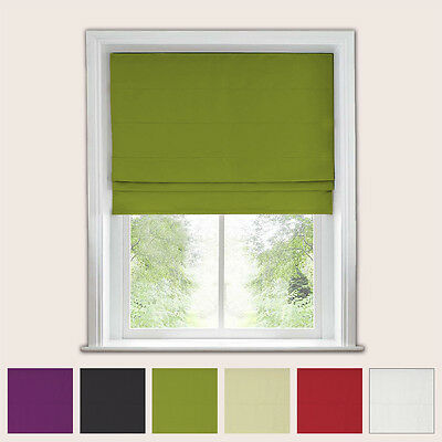Blackout Roman Blind - Trimmable - 135Cm Drop -