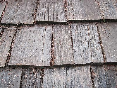 "Used Red Cedar Shakes Shingles Tapered - Old Growth #1 Heavy 24"" x 3/4"" Roofing"