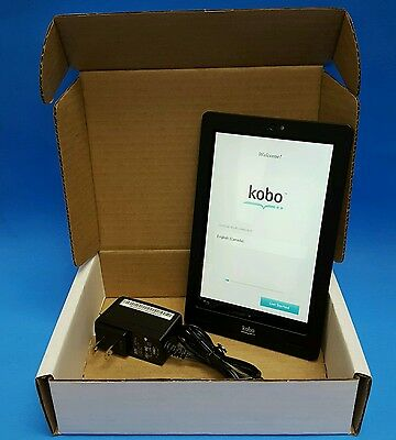 """Kobo Arc eBook Reader Tablet 7"""" LCD 64GB Android WiFi with Camera, Black"""