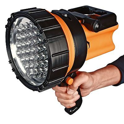 37 Led Security Spotlight Torch Candle Lantern Work Power Rechargeable Light