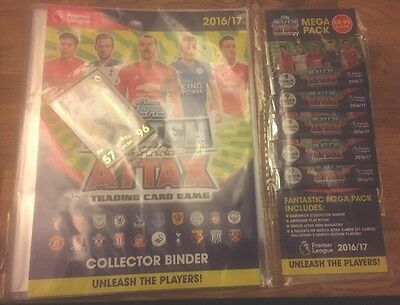 Match Attax 16/17 Mega Pack With 2 Limited Editions Starter 5 Packets