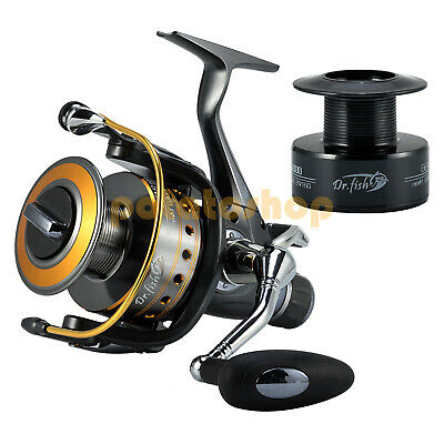 Beach Carp Fishing Spinning Reel Sea Pike Tackle 5000 Bait Feeder Freerunner