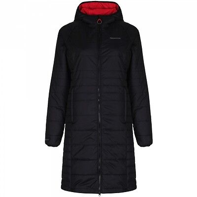 Craghoppers Ladies Womens CompressLite Max Long Insulated Jacket Black Size 10