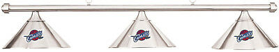 NBA Cleveland Cavaliers Chrome Shade & Chrome Bar Billiard Pool Table Light