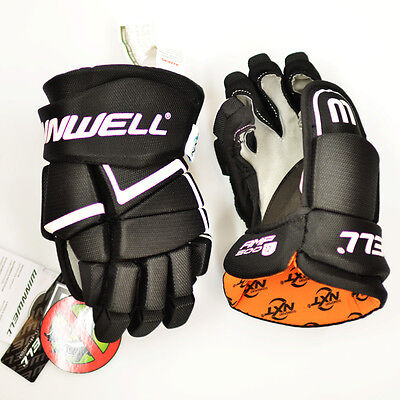 Winnwell AMP 500 JUNIOR Ice Hockey Gloves with NXT odour Management