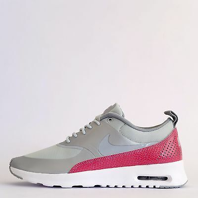 detailed look 5d455 7993c Nike Air Max Thea Premium Snake Womens Casual Trainers Shoes Sneakers Grey