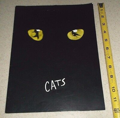 Vintage Theater Program-Cats