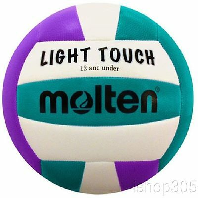 MOLTEN MS240VA Recreational Light Touch Volleyball 12 & under Outdoor/Indoor