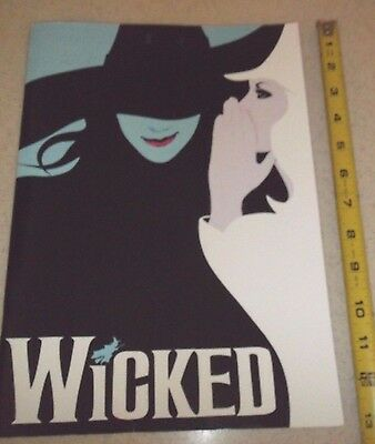 Vintage Theater Program-Wicked