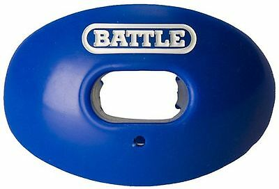 Battle Sports Science Oxygen Lip Protector Mouth Guard Royal Blue