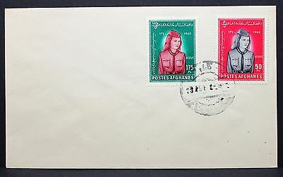 Gulf Girl Scout Cover Afghanistan Jamboree Pfadfinder Brief (I-6366