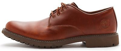 Timberland Stormbuck Plain Toe Oxford Leather Shoes in Tan Brown 5368A