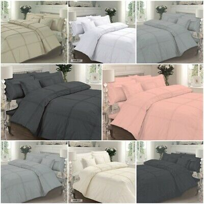 Hamlet Pintuck Luxury Duvet Covers Quilt Covers Bedding Sets All Sizes Available
