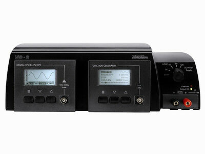 THREE-IN-ONE LAB UNIT (Scope, Function generator and Power supply)