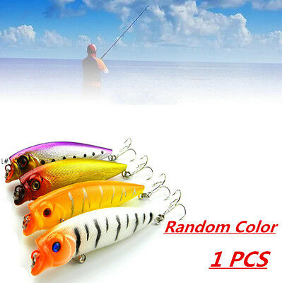 1pcs Topwater CrankBait  Hooks Random Color Hard 9cm/11.7g Treble Fishing Lure