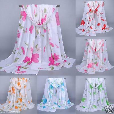 New Fashion Women Long Soft Wrap scarf Ladies Shawl Chiffon Scarf Scarves Stole