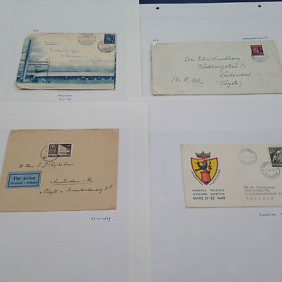 Finland variety of letters, covers, FDC's mostly from late  1930/1940 period