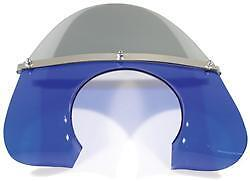 1960's STYLE SOLID BLUE & SMOKED FLYSCREEN - VESPA PX 125 E 1981-1984