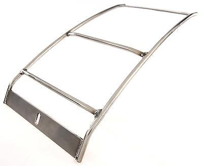 Vespa Rally 200 Rear Luggage Rack Carrier in Chrome