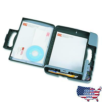 Officemate Portable Clipboard Storage Case, Charcoal (83301), No Tax, Free Ship