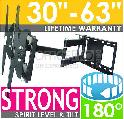 Premium Swivel Arm Corner Wall Tv Bracket For Curved Samsung Ue49K6300