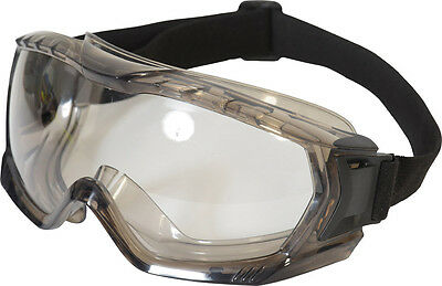 UCI Kara Sealed Safety Goggles Spectacles Eye Protection - Clear Lens