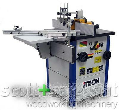 iTECH 01456 Tilting Spindle Moulder with Table